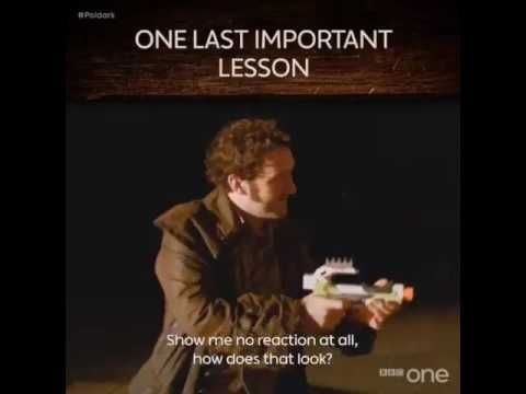 BBC One «That moment when Aidan Turner gatecrashes your acting workshop  🔫 - YouTube