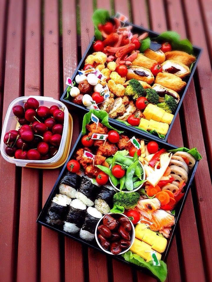 ひなうた's dish photo 運動会のお弁当 | http://snapdish.co #SnapDish #お気に入り、話題の!調味料 #お弁当 #お花見 #運動会