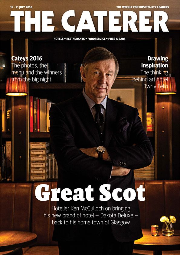 In this week's issue... Hotelier Ken McCulloch on bringing his new brand of hotel - Dakota Deluxe - back to his home town of Glasgow. To subscribe go to www.thecaterer.com/subscribe