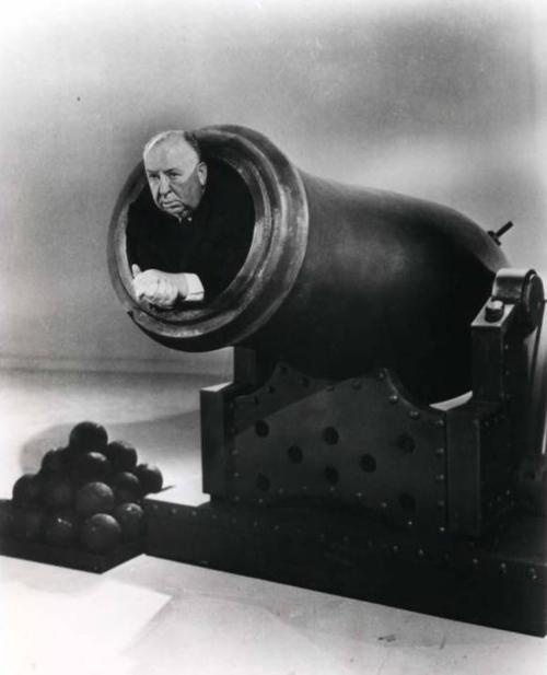 Blast off with Alfred Hitchcock