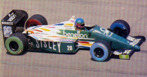 Gerhard Berger Benetton B186 BMW