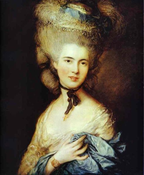 Georgiana Cavendish. The maverick Duchess of Devonshire. As well as a celebrated beauty/socialite, She was also an active political campaigner