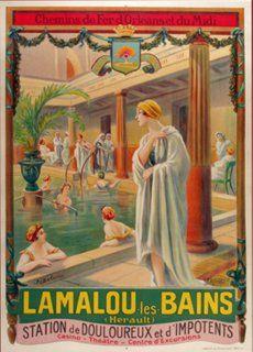 Lamalou Les Bains Poster, C. 1905