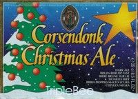 Label van Corsendonk Christmas Ale