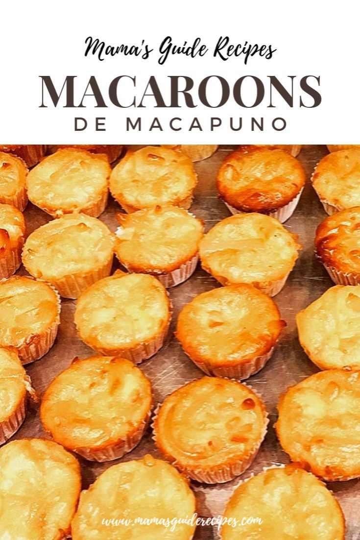 Macaroons De Macapuno Is Another Special Recipe Of Macaroons With A Twist Of Macapuno Strings Preserv Macapuno Recipe Coconut Macaroons Recipe Macaroon Recipes