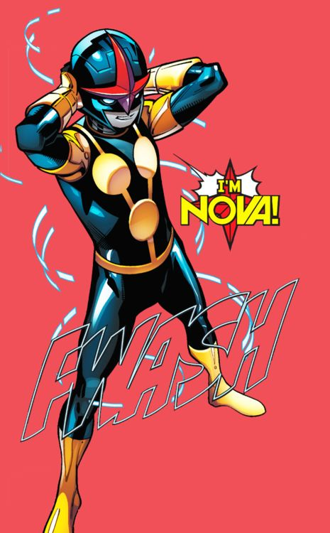 """""""One: I'm nobody's """"squire,"""" two: this kid is nobody, and three: … I'M NOVA!"""""""