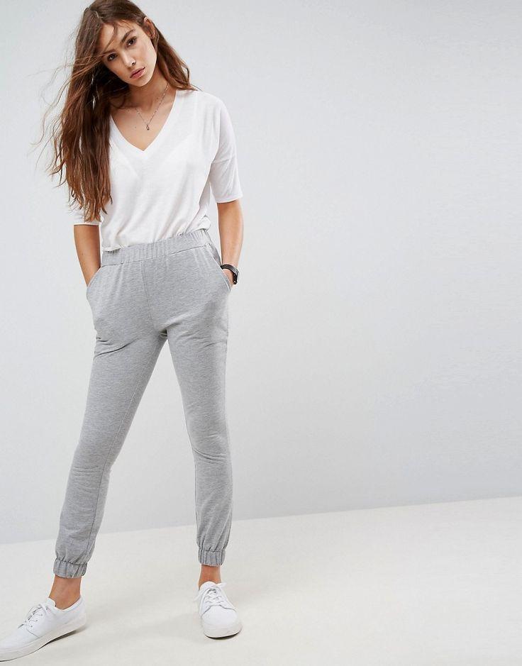 ASOS Basic Skinny Joggers - Gray