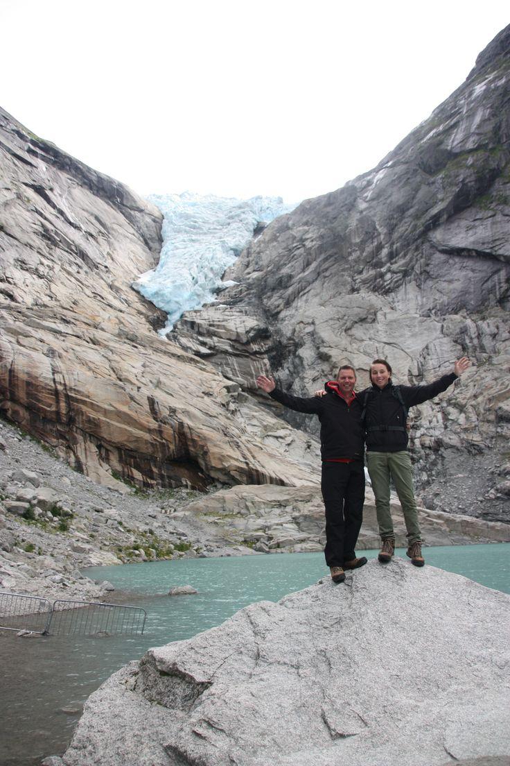 Gletsjer nabij Oldedalen