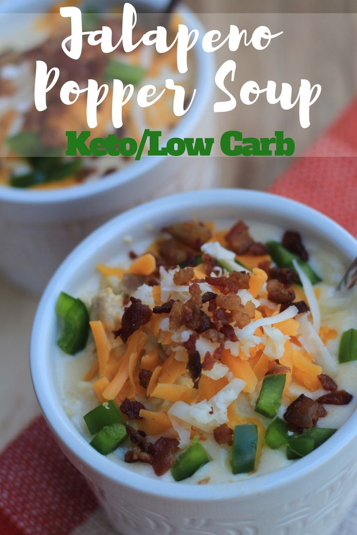 "TweetEmail TweetEmail Share the post ""Jalapeno Popper Soup Keto/Low Carb {Instant Pot or Crock Pot}"" FacebookPinterestTwitterEmail As the weather is cooling down here in Tennessee, I've been craving soup. I love that soup is generally a one pot meal, and I typically make enough so that I have enough for leftovers for lunch the nextcontinue reading..."