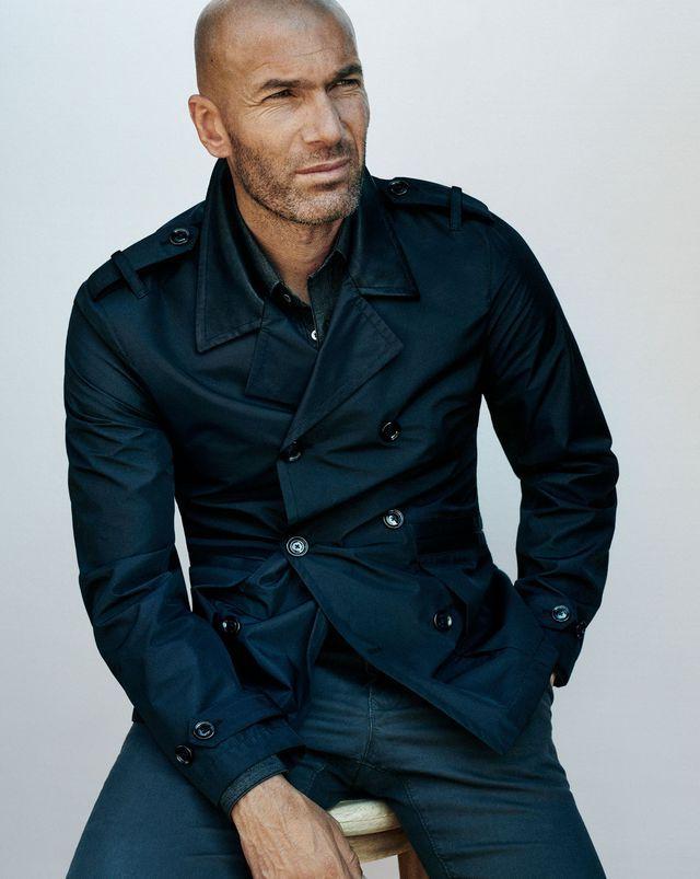 Zinedine Zidane paris fashion week mango