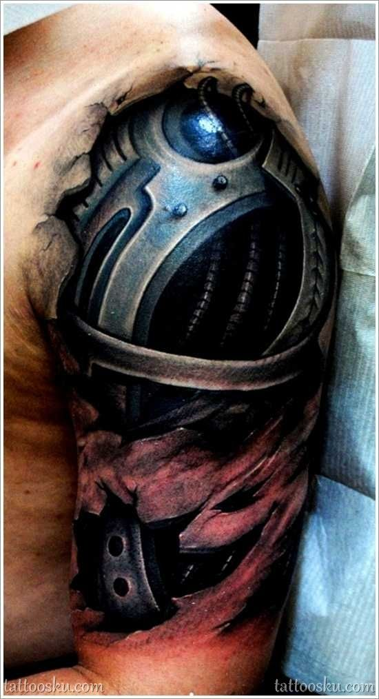 Interesting 3D Sleeve Tattoos For Men | Tattoos Blog