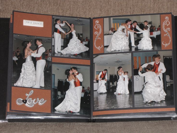 476 best Wedding Day Scrapbook Layouts images on Pinterest ...