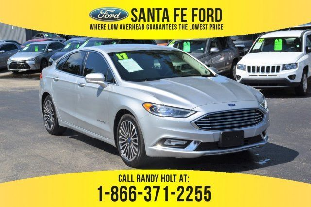 2017 Ford Fusion Hybrid Titanium Gas Electric I 4 2 0 L 122 Engine Sedan 4 Door Fwd Automatic Cvt Ford Fusion Used Ford Ford