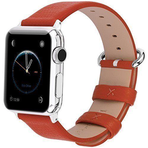 Watch Band Wrist 42mm Yan Series Lichi Calf Leather Replacement Sport NEW #IWatchBand