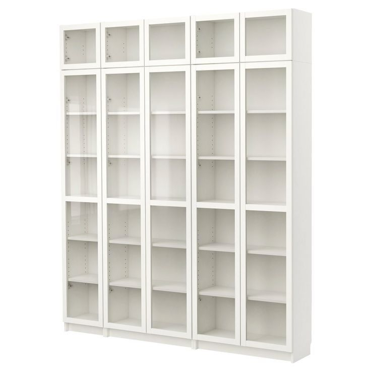 For Sale And For Collection Only A Set Of White Bookcases With