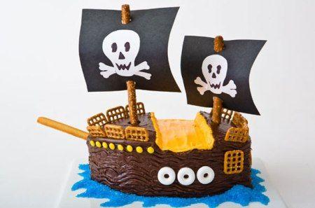 torta barco pirata