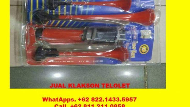 WhatApps +62 822.1433.5957, OM TELOLET OM KLAKSON BAHAN STAINLESS STEEL,...