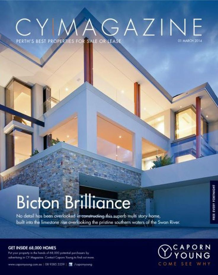 CY Magazine - Issue 1 #realestate #perth