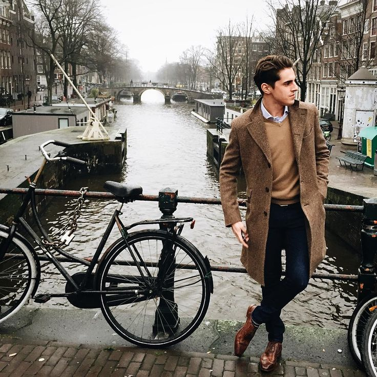 "matthiasgeerts: ""Looks like every time in Amsterdam the weather is grey, nevertheless we had a blast! #Amsterdam (at Amsterdam Canals) """