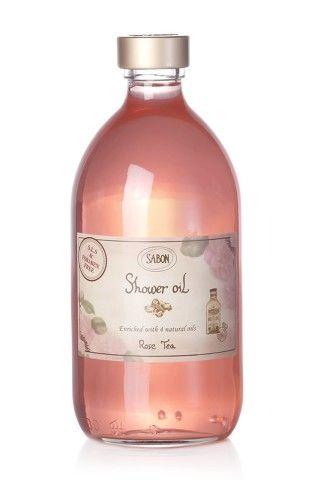 SABON Rose Tea shower oil