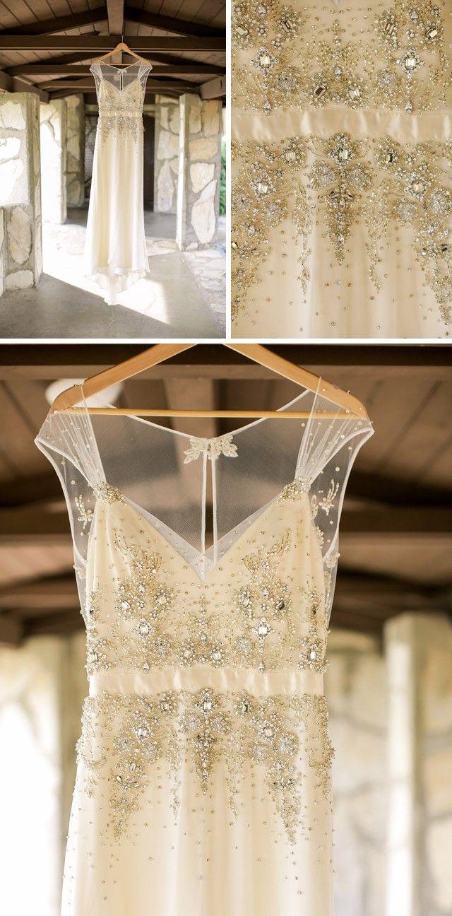 Uncategorized/outdoor vintage glam wedding rustic wedding chic - Maggie Bride Desiree Hartsock S Outdoor Wedding