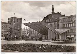 Halle, Blick auf den Markt, ca. 1965