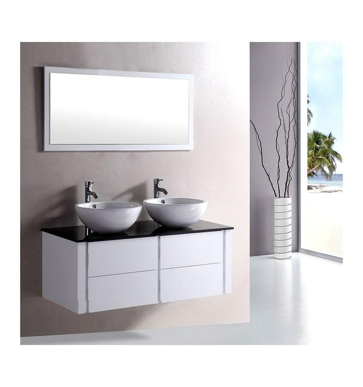 17 meilleures id es propos de ensembles de salle de bains sur pinterest d - Meuble vasque original ...