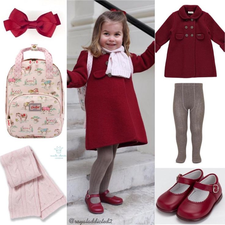 "1,180 Likes, 18 Comments - Royal Addicted (@royaladdicted2) on Instagram: ""Princess Charlotte Style! Coat: Amaia Kids; Tights: Amaia Kids; Shoes: Dona Carmen; Ribbon: Amaia…"""