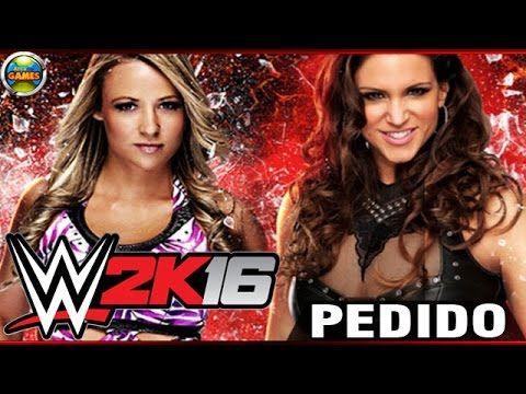 WWE 2K16 Emma vs Stephanie Macmahon PEDIDO