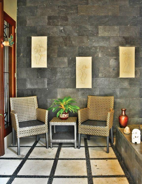Stone Accents In The Living Room Haus Dekor Haus Dekoration Danisches Design