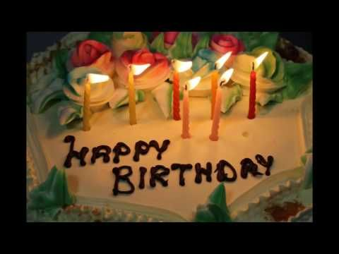 Happy Birthday Video | Happy Birthday Song Lyric - YouTube