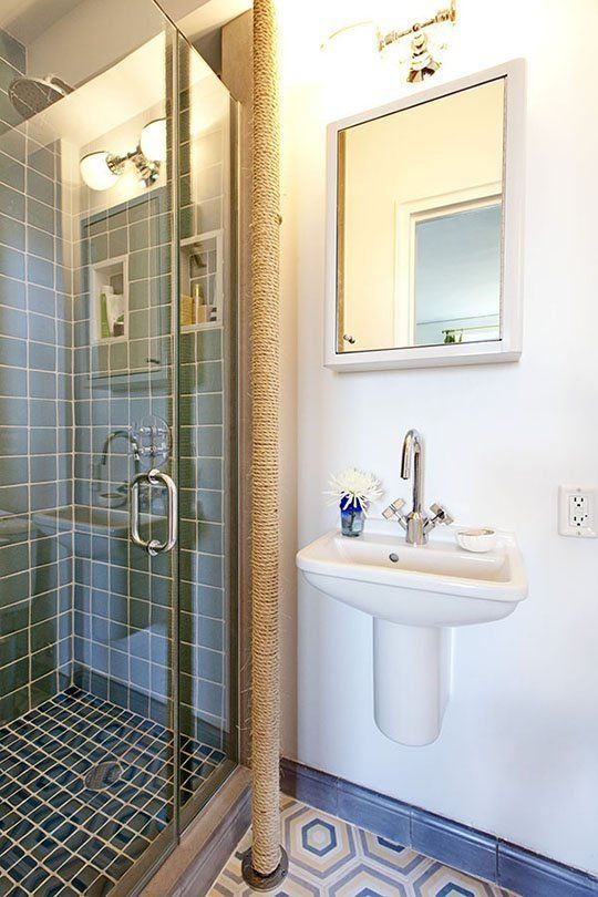 Before U0026 After: A Colorful Update For A Vintage Bathroom U2014 Sweeten