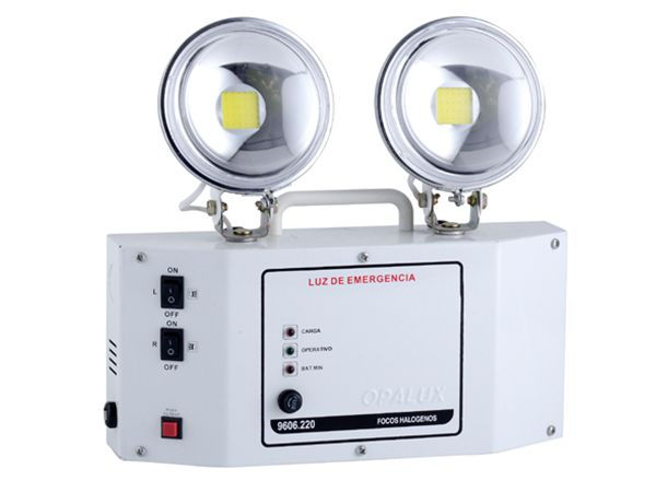 Ideal Applications Of This Twin Head Led Emergency Light Are In