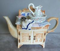 Paul Cardew - Large Washstand Collectable Teapot. VGC
