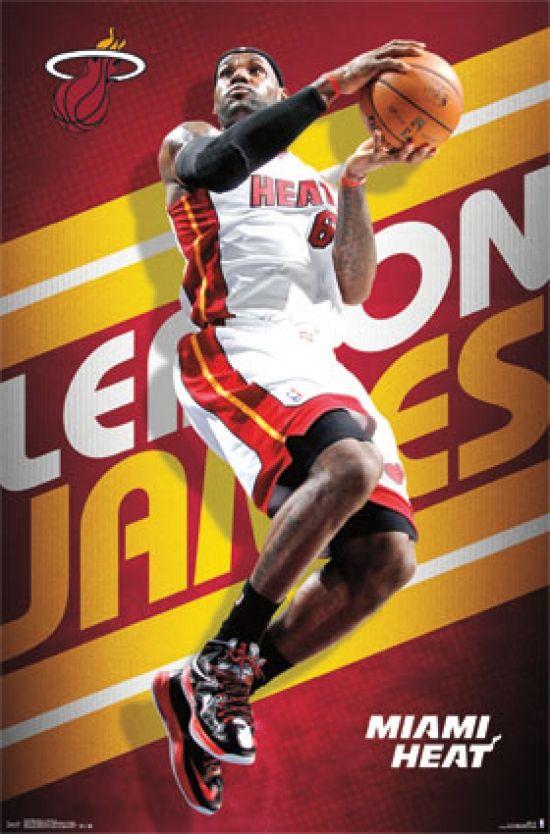Lebron James - 2013 Poster Print (24 x 36) - Item # PYR13055 - Posterazzi