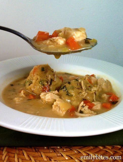 Herbed Chicken & Dumplings