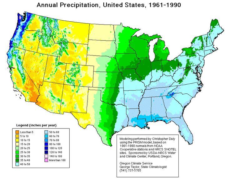 Rain Fall Us Maps Latitude Precipitation Highest In Latitudes - Patterns in the us maps