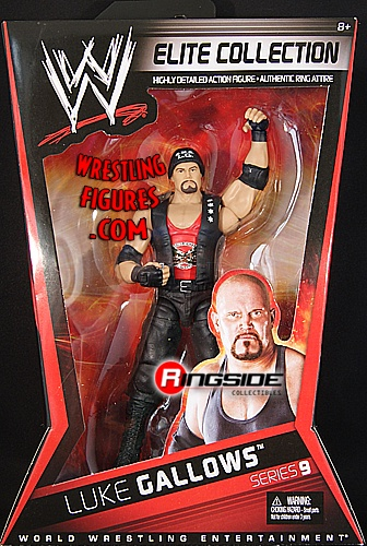 RINGSIDE COLLECTIBLES WWE Toys, Wrestling Action Figures, Jakks Pacific, Classic Superstars Action F: LUKE GALLOWSELITE 9WWE Toy Wrestling Action Figure