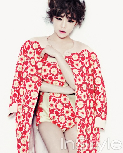 Ga In Brown Eyed Girls Psy's Gentleman InStyle Magazine May 2012