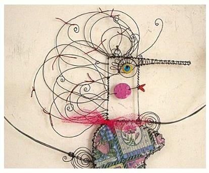 80 best Wirework. images on Pinterest | Wire art, Wire sculptures ...