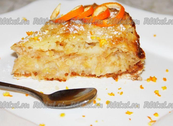 Рецепт пирога с яблоками и с корицей