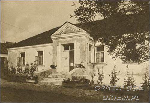 ,1935 Pałace, dwory, dworki - Nowogródek - dom Mickiewiczów - Wyszukiwarka genograficzna