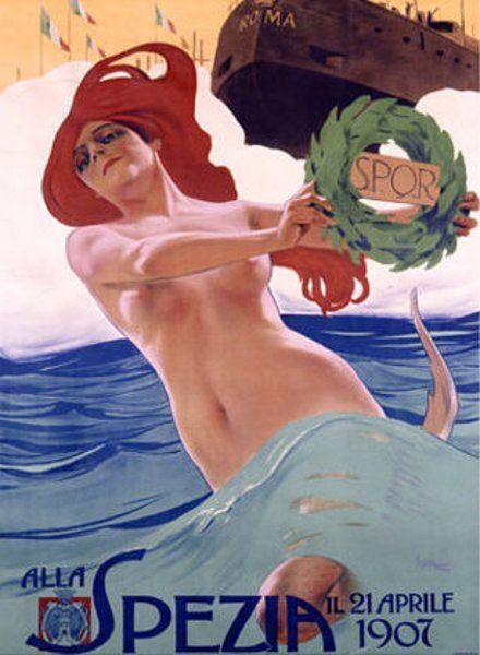 Alla Spezia, 1907, by Leopoldo Metlicovitz (Italian, 1868–1944)