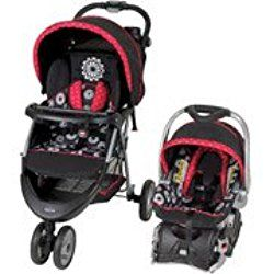 Baby Trend EZ Ride 5 Travel System, Mums Red