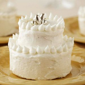 Champagne Wedding Cupcakes From Better Homes and Gardens, ideas and improvement projects for your home and garden plus recipes and entertaining ideas.