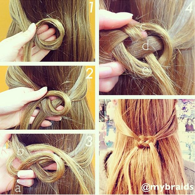 easy hairstyles step by step for school - Google Search
