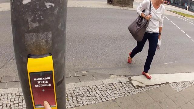 STREETPONG by HAWK Hildesheim. Urban Interactions