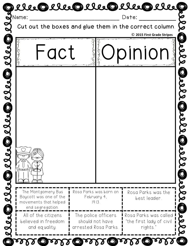 003 Rosa Parks Graphic Organizers and Activities MiniUnit