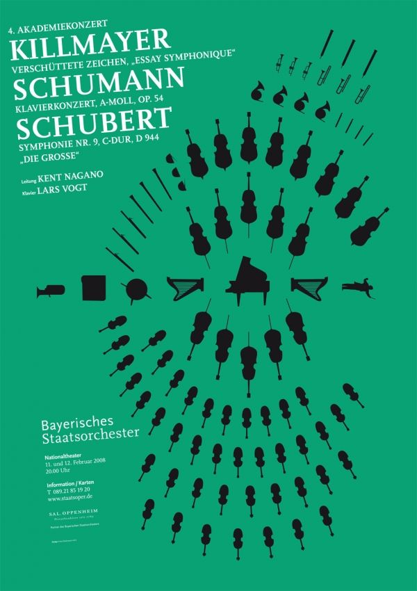 Fons Hickmann M23 - Bayerisches Staatsorchester - Bayerische Staatsoper, Music, Musik, Plakate, Poster, Sony