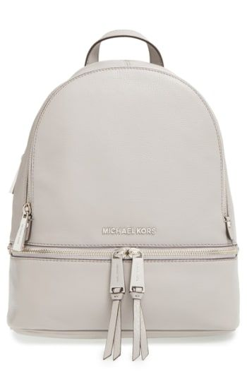 Like to order MICHAEL Michael Kors  Small Rhea Zip  Leather Backpack ... 1c88d09a6c